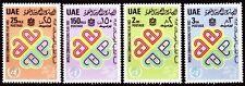 UAE 1983 ** Mi.164/67 Weltkommunikationsjahr   World -Telecommunication