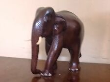 ELEPHANT SCULPTURE STATUE ROSEWOOD HANDCRAFTED EXCLUSIVE FIGURINE ORNAMENT