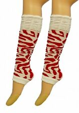 New 80's UV Neon Plain Top Luxurious Legwarmer Adults Ladies Party Leg warmers