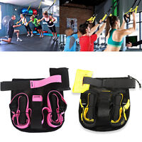 Home Gym Suspension Strap System Fitness Strap Resistance Exercise Trainer