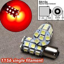 2X RED LED Rear Signal Light S25 1156 BA15S 3497 1141 27 for Hyundai