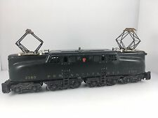 Lionel Trains Pennselvania GG-1 Electric Dark Green No. 2360 O Gauge