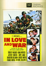 In Love and War 1958 (DVD) Robert Wagner, Dana Wynter, Jeffrey Hunter - New!