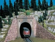Vollmer 42501 H0 Tunnel Portal, Single Track, 2 Pcs # NEW ORIGINAL PACKAGING #