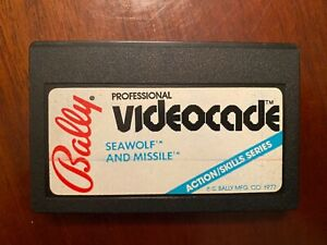 Bally Astrocade Videocade Cartridge Game Bally Computer Seawolf and Missile