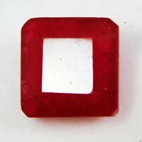Natural Precious African Red Ruby Quartz 7 Ct Untreated Gemstone IGI CERTIFIED