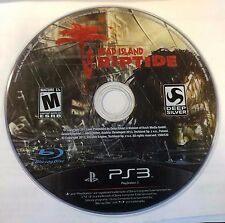 Dead Island Riptide (PS3) PLAYSTATION 3 DISC ONLY # 7254