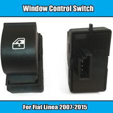 1x Window Control Switch For Fiat Linea 2007-2015 4 Pin 735379275 Black Plastic
