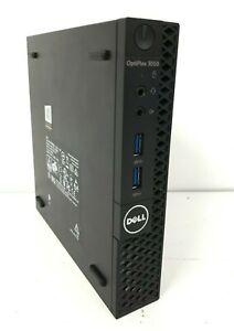 Dell OptiPlex 3050 Micro PC Core i3-7100T 3.40GHz 4GB DDR4 500GB HDD
