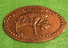 Brookfield Zoo Leopard Pressed Elongated Penny