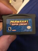 Mario Kart: Super Circuit NINTENDO GAMEBOY ADVANCE GBA GAME Authentic Tested!