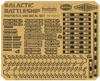 PARAGRAFIX 1/4105 BATTLESTAR GALACTICA: BS75 SPACESHIP ETCH & DECAL MOE 133