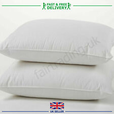 Duck Feather & Down Pillows Pillow Extra Filled Hotel Quality PACK of 2,4 & 6