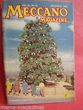 MECCANO MAGAZINE DECEMBER 1955 HEART OF THE ENGINE REINDEER BUSH BIRD HUNTING