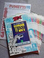 Tex presenta la storia Del West da 1 al 9 - Hobby & Work