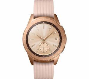 Samsung Galaxy Watch 4G GPS LTE 42mm Rose Gold pink strap SM-R815