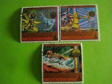 3 timbres anciens des Comores (C16)