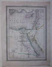 1864 EGITTO PALESTINA Guigoni Doyen Palestine فلسطين Israel יִשְׂרָאֵל Egypt