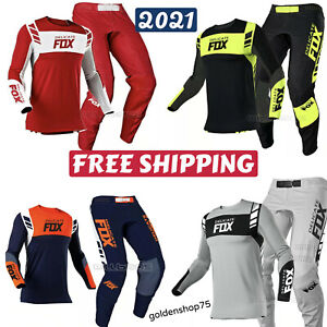 Naughty FOX ATV 360 Flexair Jersey Pant Motocross Racing MX Gear Set Combo 2021