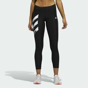 Adidas Authentic Women's Running Own The Run Black Tights FP7539