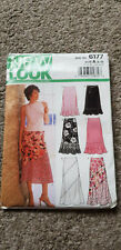 NEWLOOK pattern 6177 Misses Skirt in 6 styles size A 8-18 (Euro 34-44)