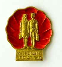 Spilla Patronato Scolastico (Franco Ricci Firenze) cm 2 x 2,3
