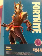 FORTNITE 244 Taro  # 244 PANINI epic outfit