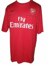 Maillots de football rouge Nike taille XL