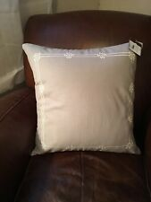 """Pottery Barn Emilia Embroidered 20"""" Pillow Covers Beautiful"""