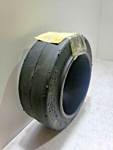 New Monarch 10x4x6-1/2 tire Super Solid forklift press-on smooth Forklift tire
