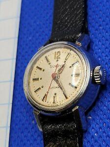Vintage (1969) Bulova Automatic Wrist Watch. MVT# 6CMAC. Running