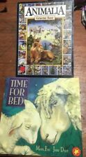Mem Fox - Time For Bed & Animalia - Graeme Base, Softcover Children Picture Book