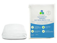 "The Original ""Bed Bug Proof"" 100% Waterproof Zippered Mattress Covers/Protectors"