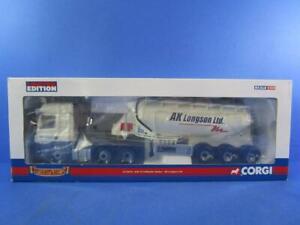 CORGI CC13610 DAF CF FELDBINDER TANKER AK LONGSON LTD, 1/50, MIB!