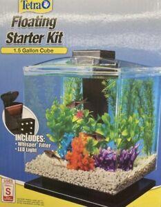 Tetra 1.5 Gallon Floating Starter Kit (Read Description)