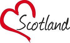 """Auto Aufkleber """" SCOTLAND """" Sticker Schottland Großbritannien ca.9x14cm konturg."""