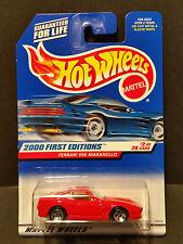 2000 Hot Wheels #062 First Editions 2/36 Ferrari 550 Maranello - 23929