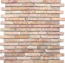 TERRACOTTA Mosaic tile BRICK MARBLE Rossoverona WALL FLOOR 40-0145_f | 10 sheet