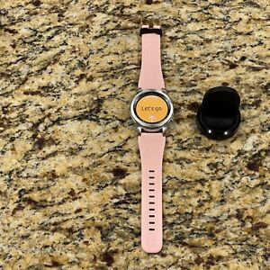 Samsung Galaxy Gear S3 classic 46mm Stainless Steel Case Pink band J41