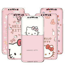 iPhone 11 Pro Max Pink Hello Kitty Tempered Glass iPhone 8 Plus Screen Protector