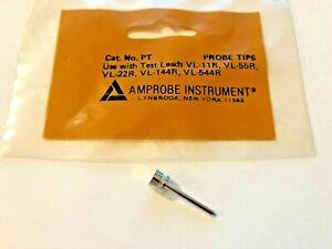 """AMPROBE INSTRUMENT Probe Tip, Part# PT, """"Pinch-Type"""" Style, ONE (1) Probe Tip"""