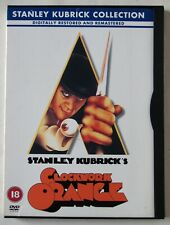 CLOCKWORK ORANGE / STANLEY KUBRICK / 1971 CULT MOVIE RESTORED REMASTERED R2 PAL