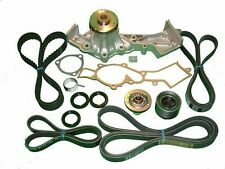 Timing Belt Kit Fits:(Nissan Frontier 1999-2004) V6 Tensioners Water Pump