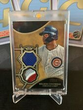 2019 Topps Tier One Willson Contreras Game Used Patch Card 17/25