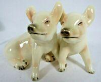 Vintage Goebel Porcelain Cuddling Pigs Figurine West Germany Pink Pig Love