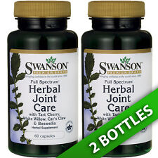 Swanson Herbal Joint Care 2X60 Boswellia/Cat's Claw/Tart Cherry/White Willow