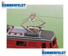 SOMMERFELDT 956 N.1 PANTOGRAFO METALLO ESTENSIBILE IDEALE LOCOMOTORI SBB SCALA-N