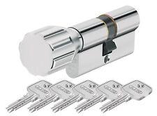 ABUS Eck550 Knaufzylinder Z30/k35 Mm Wendeschlüssel mit 3 Schlüssel