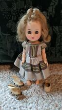 Vintage Pretty Plastic Doll, Eyes that Sleep, Bloomers, & Roller Skates, Ginny?