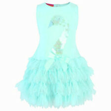 NEW Baby Biscotti Kate Mack AQUA BLUE Sequin SWAN LAKE Dress Infant Size 18M